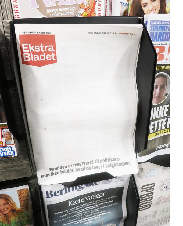 Ekstra bladet forsiden